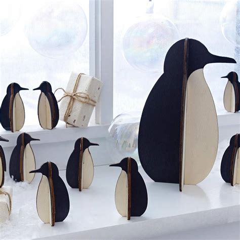 Penguin Decorations penguin decoration by lindsay interiors