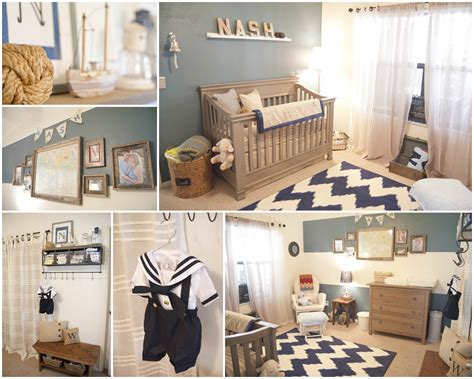 Nautical Decor For Baby Nursery Baby Nash S Vintage Nautical Nursery Project Nursery