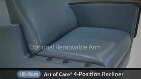art of care recliner art of care four position recliner hill rom com
