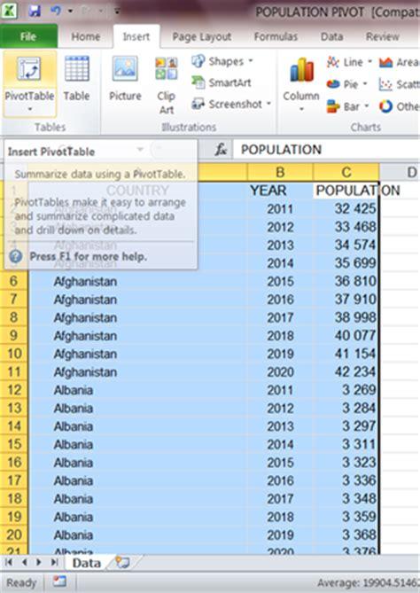 before you create a pivot table it is important to simple math and excel tips how to quickly create pivot
