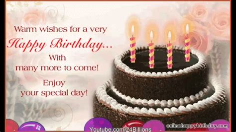 Happy Birthday Quotes With Cake Happy Birthday Wishes Quotes Greeting Cakes Youtube