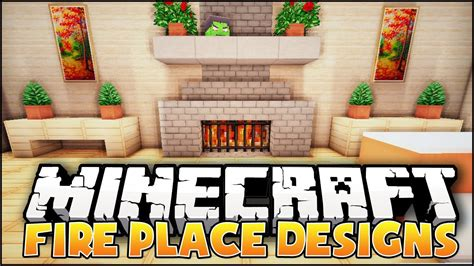 How To Make A Fireplace In Minecraft Pe by Minecraft Fireplace Designs Ideas