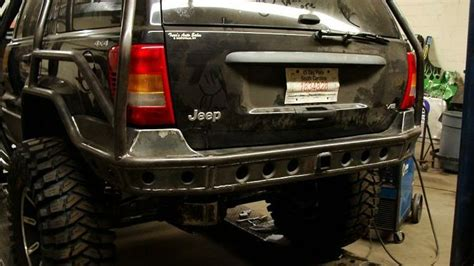 2000 Jeep Grand Bumper 2000 Wj Rear Bumpers W Wheel Mount For Sale Built Not