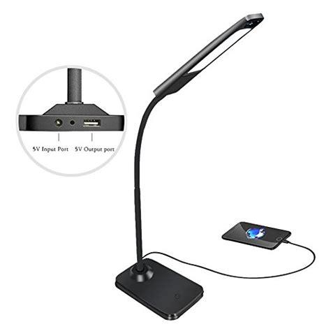 bedside l with usb charging port desktop l hqoon office desk l with usb charging