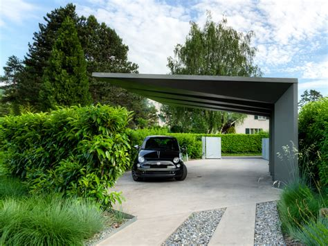 house car parking design casa concreto aparente 101planosdecasas com