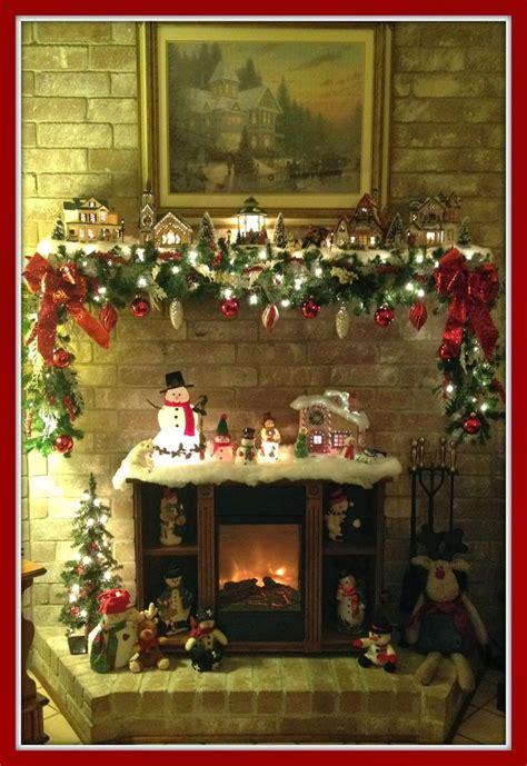 25 best ideas about christmas mantel decor on pinterest