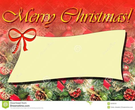 merry christmas frame stock photos image 6936533