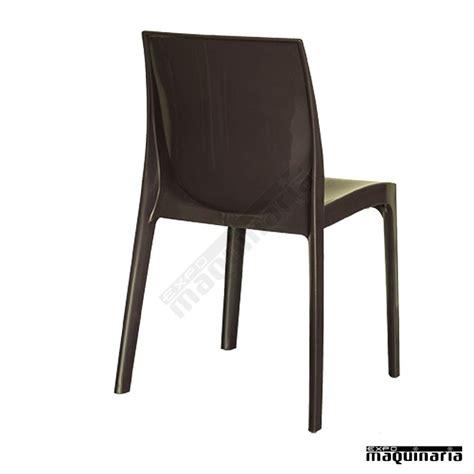 sillas plastico silla de exterior y terraza de pl 225 stico apilable lbanna