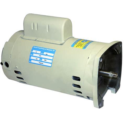 pool motor 2 hp 2 hp 48y 56y motor 3450 rpm 230 volt perry s pool