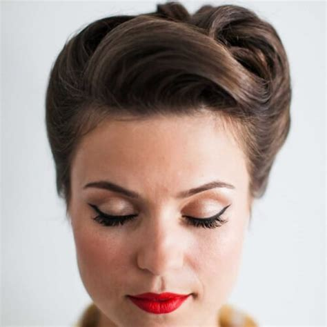 50s Pin Up Hairstyles by 50 S Hairstyles For Hair Womens Hairstyles