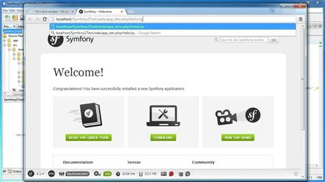 tutorial symfony2 netbeans creating symfony2 project with netbeans tutorial youtube