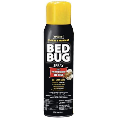 bed bug spray at home depot harris egg kill and resistant bed bug spray blkbb 16a the home depot