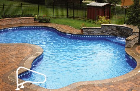Backyard Inground Pool Designs Back Yard Swimming Pool Ideas Swimming Pool Design Small Backyard Design