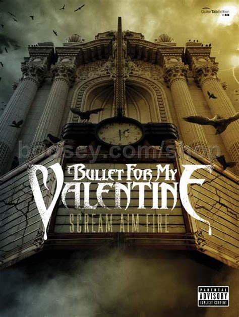 bullet for my scream aim album bullet for my scream aim guitar tablature
