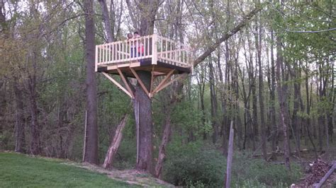 tree house ladder design tree house building is finished handy father