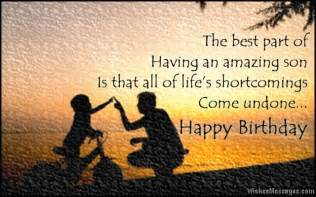 Birthday wishes for son quotes and messages wishesmessages com
