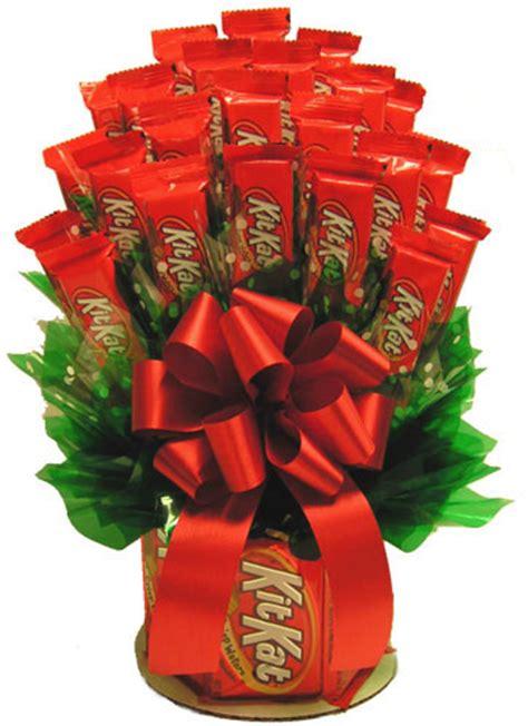 kit kat candy bar bouquet