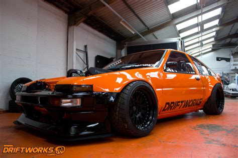 Toyota Drift Awesome Driftworks Toyota Ae86 With An Ls3 V8