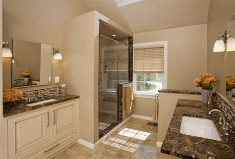 Bathroom Remodeled Master Bathrooms Ideas With Bamboo Master Bathroom Renovation Ideas