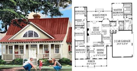 one story farmhouse floor plans imagine your future home with these 6 single story
