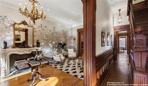 Chandeliers Nyc 8m Park Slope Brownstone Is Historic And Luxurious With A