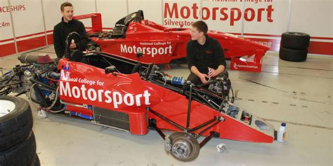 motorsport nation national college for motorsport tresham college