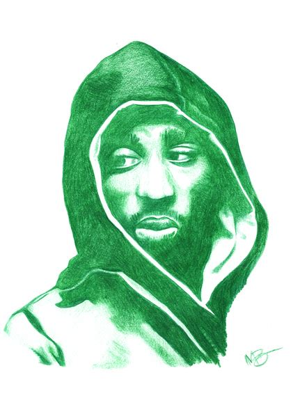 2pac Sketches by Hip Hop Portrait Sketches On Behance