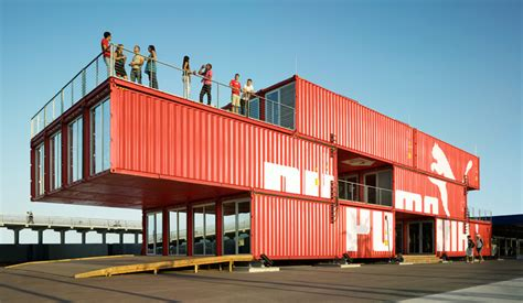 Interior Design Shipping Container Homes by Puma City Lot Ek Architecture Amp Design
