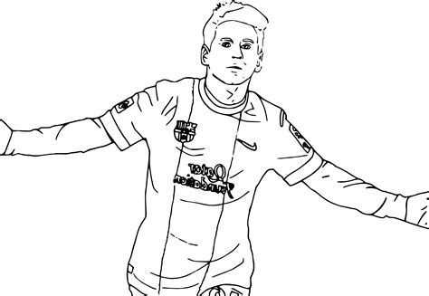 dessin de foot de ronaldo coloriage messi