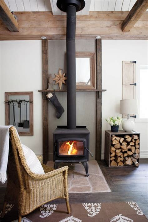 Wood Stove Design Ideas by 25 Cool Firewood Storage Designs For Modern Homes