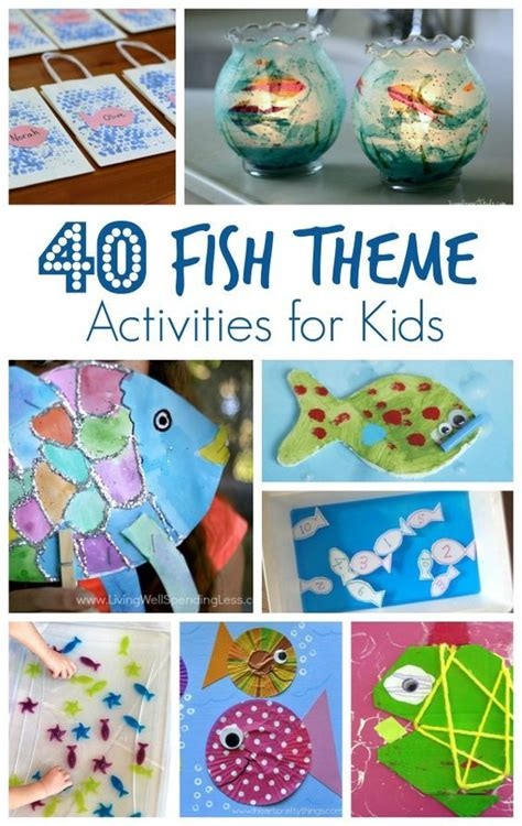 blue themed games fish theme activities for kids for kids fish and activities