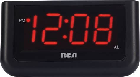 Digital Alarm Clock rca digital alarm clock with large 1 4 quot display 1 4