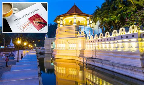 Entry Requirements For Mba In Sri Lanka by Sri Lanka Visa Requirements For Brits To