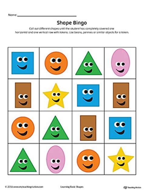 printable shapes bingo heart shape maze printable worksheet color