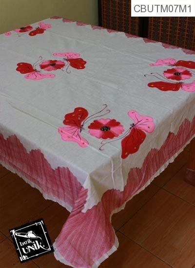 Tempat Tisu Persegi Panjang Motif Kaki taplak meja makan persegi panjang batik motif lukis kupu