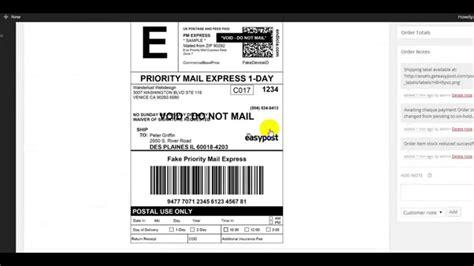printable shipping label ups print usps fedex ups shipping labels via woocommerce