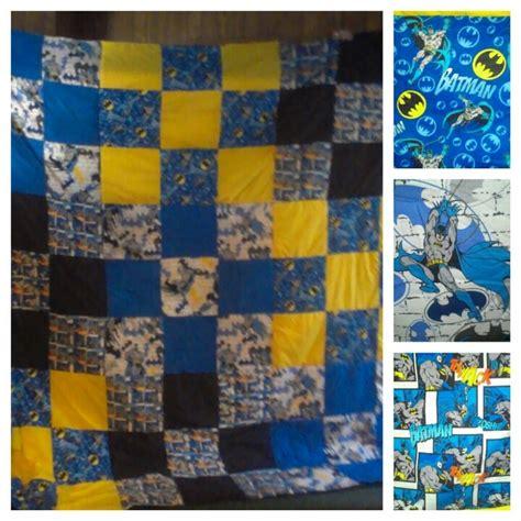 Batman Quilt Pattern by Batman Quilt Quilts