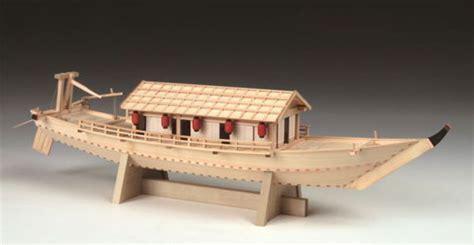 house boat model amiami character hobby shop japanese style ship 1 24