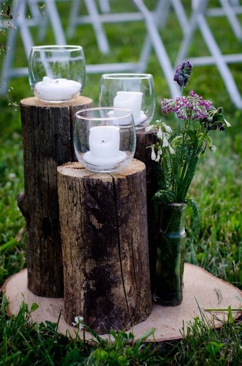 what to do with plant stump as christmas decoration outdoors 24 decorating ideas with tree trunks elements in the interior