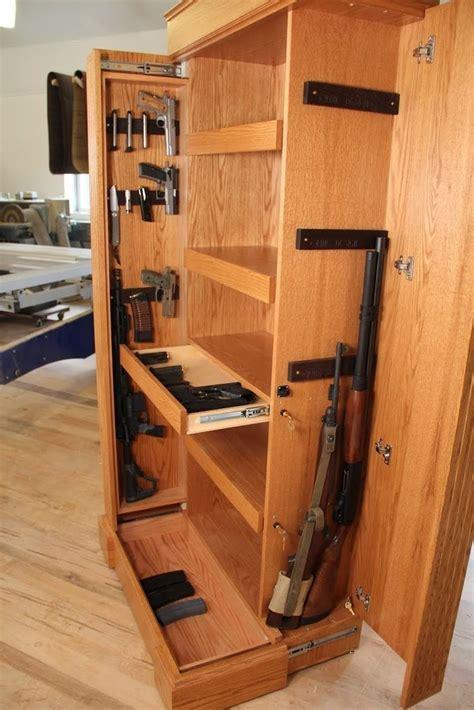 hidden gun cabinet furniture 223 best gun cabinet and secret storage images on