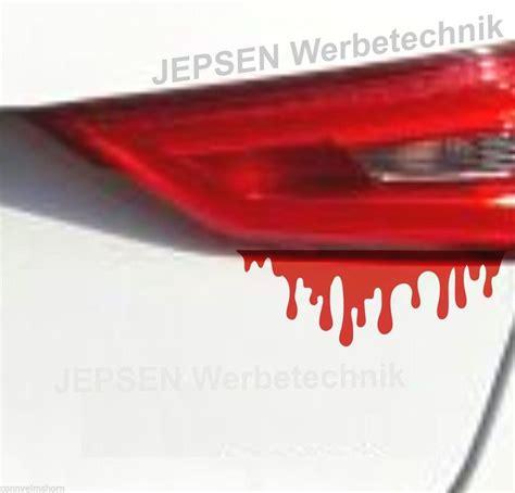 Aufkleber Auto Blut by Autoaufkleber Blut 1 Aufkleber Blutspritzer Fun Tattoo
