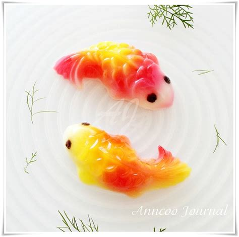 new year jelly recipe koi carp fish jelly the word fish yu is