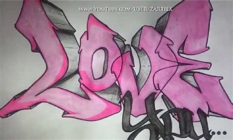 imagenes de graffitis a lapiz graffiti de amor www imgkid com the image kid has it