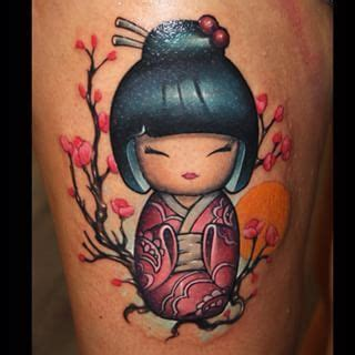 geisha doll tattoo meaning 7 best images about tattoo on pinterest first tattoo
