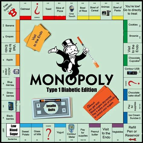 Type 1 Diabetes Memes - type 1 diabetes monopoly lol type 1 diabetes pinterest