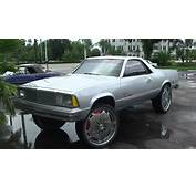 1980 CHEVY El CAMINO V8 DONK LIFTED UP HIGH IN SONY HD