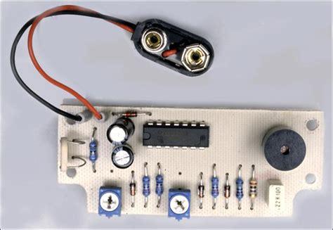 Refrigerator Door Alarm by Fridge Door Open Alarm Circuit Project Circuit Diagram