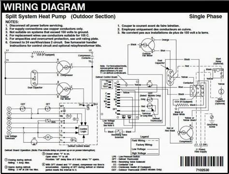 outside ac unit wiring diagram wiring diagrams wiring