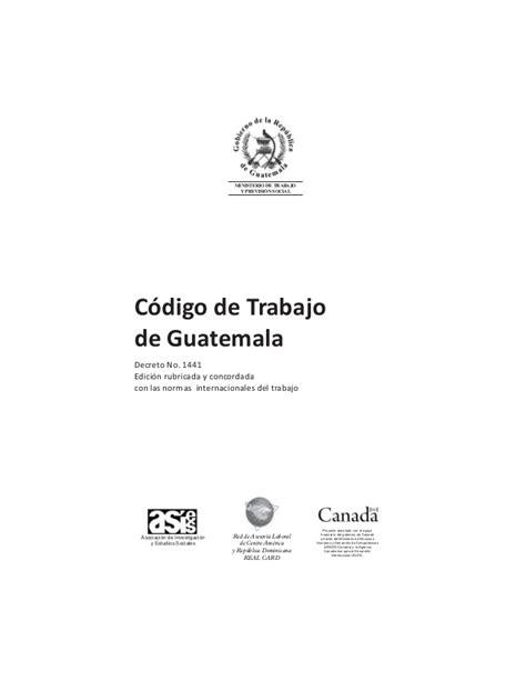 gua de co de 8428204691 c 243 digo de trabajo de guatemala sept2011