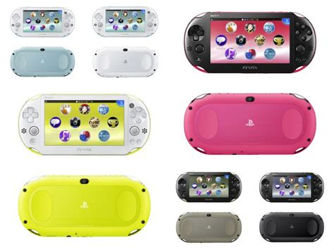ps vita slim colors new ps vita slim ps vita tv coming to singapore stores